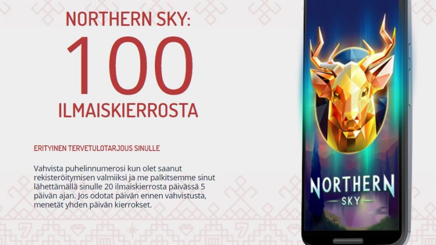 karjala kasino kokemuksia northern sky