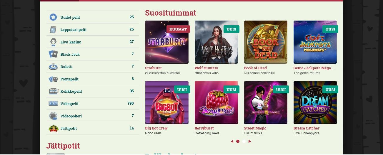 Suomikasino kokemuksia | Casinoproffa