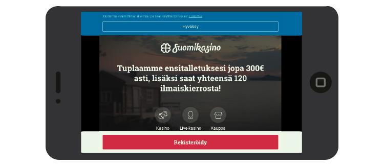 Suomikasino kokemuksia mobiilissa | Casinoproffa