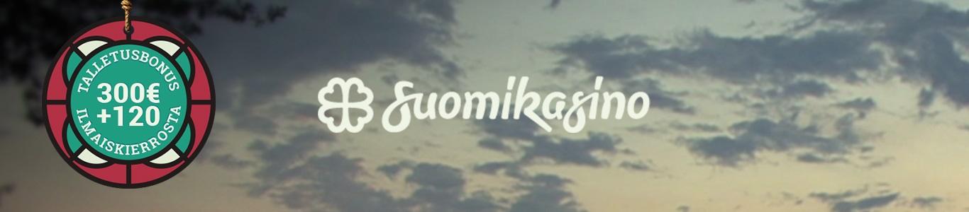 Suomikasino banneri