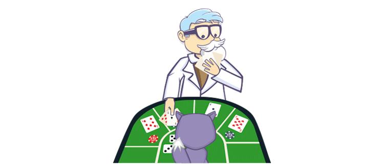 Jackpot ja Casinoproffa pelaa pokeria