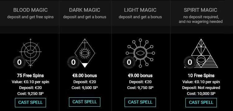 Collect Voodoo Dreams XP & SP Point Bonuses