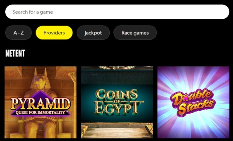 Find Rizk Slots & Games