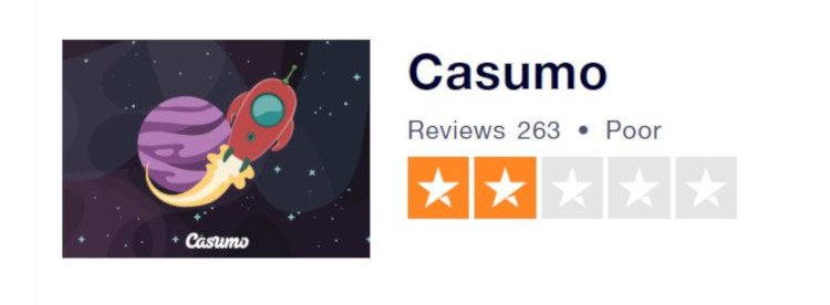 Trustpilot November 2018: Casumo reviews UK