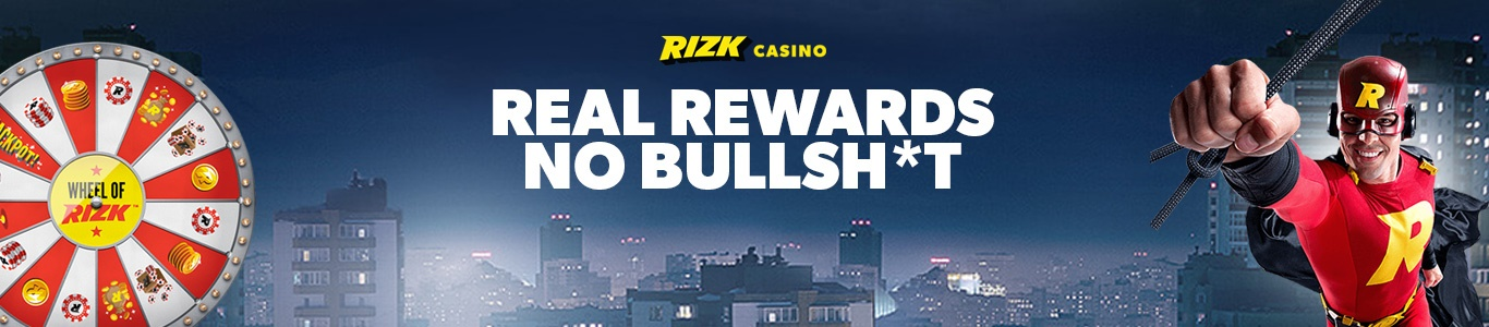 Rizk Casino - Real Rewards, No Bullshit