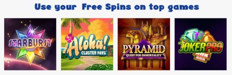 50 Power Free Spins Games