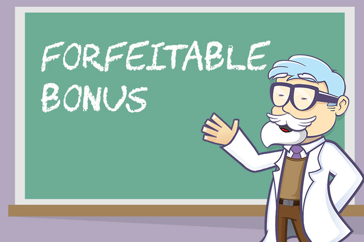 Casino Professor explains about forfeitable bonus