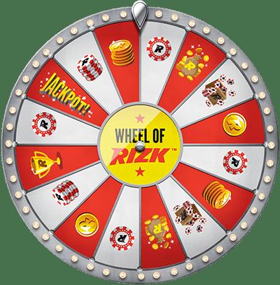 Wheel of Rizk - Bonus ohne Einzahlung