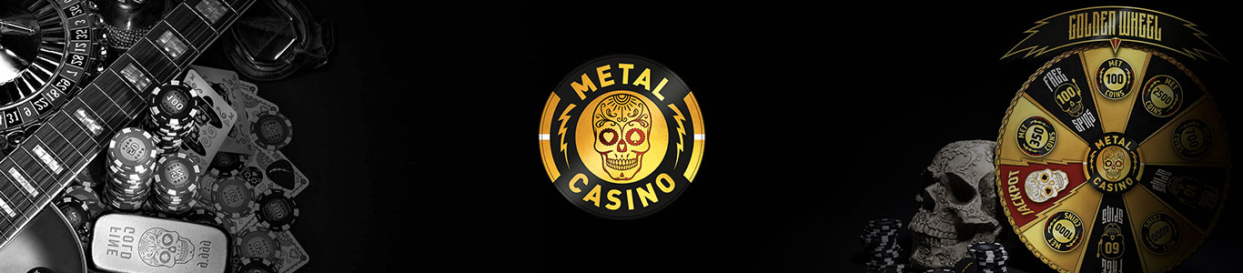 Metal Casino review banner