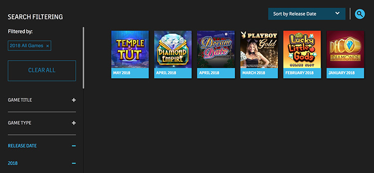 Microgaming - latest games