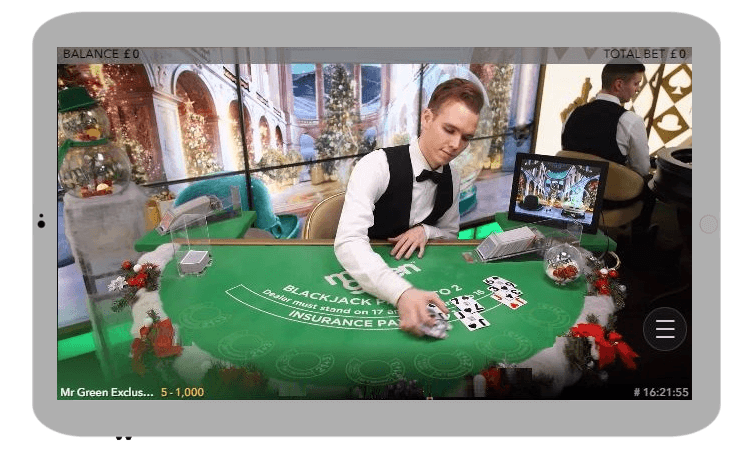 Mobile live casino review