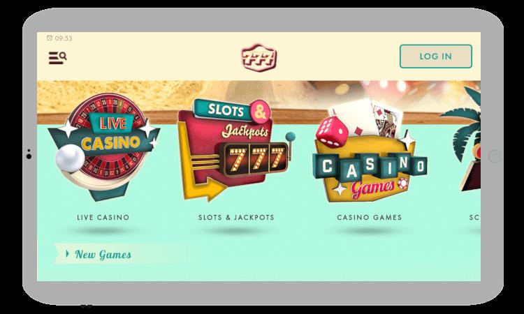 Casino app from 777