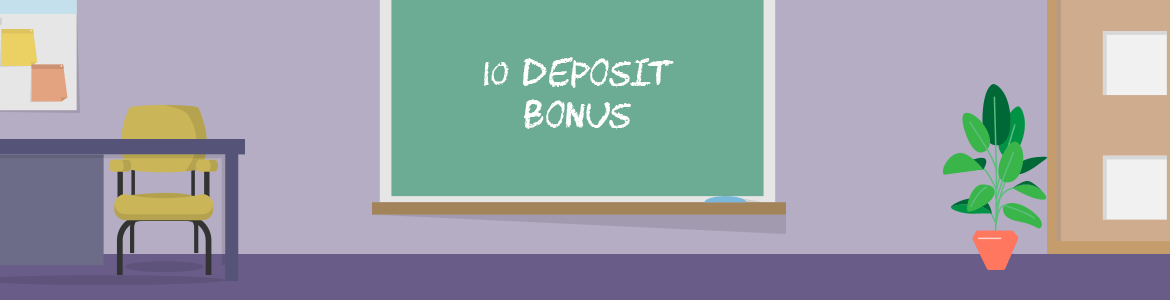 Deposit 10 Get Bonus - Play with a variety of offers