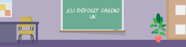 Deposit 20 Get Bonus - Play with a variety of £20 deposit offers