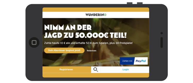 Wunderino-mobile-ansicht