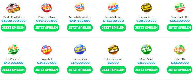 Multilotto Lotterien