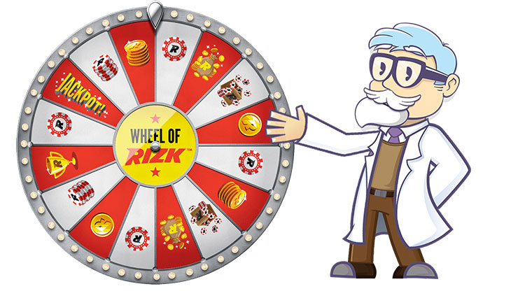 Freispiel am Wheel of Rizk