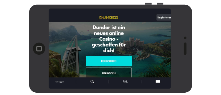 DUNDER-mobile-ansicht