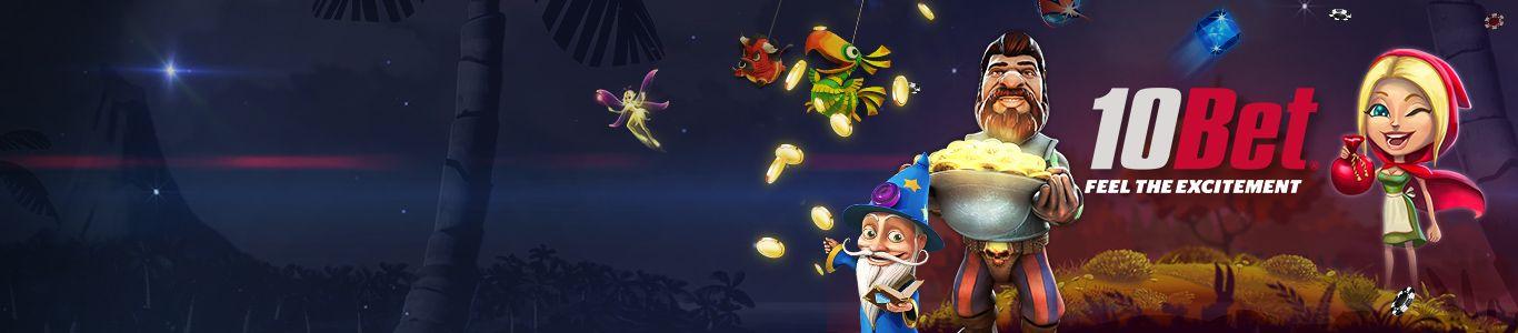 10Bet online casino banner