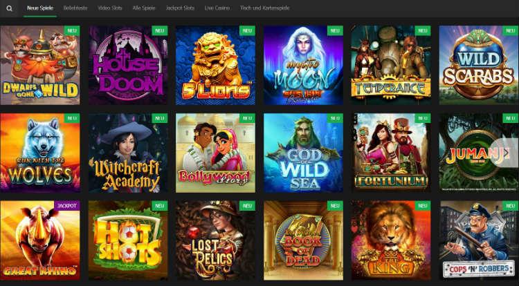 10bet Casino bietet knapp 700 Casinospiele