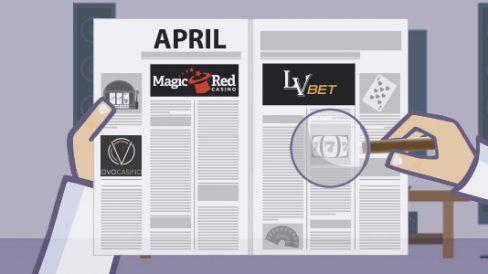 Neue Casinos im April bei Casino Professor