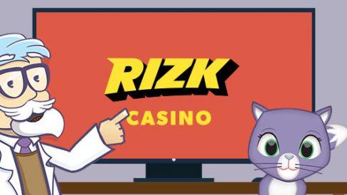 Rizk Casino - 25 Euro Bonus ohne Einzahlung