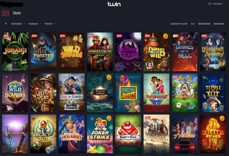 Twin Casino Erfahrungen und Spielauswahl