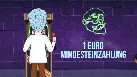 1 Euro Mindesteinzahlung