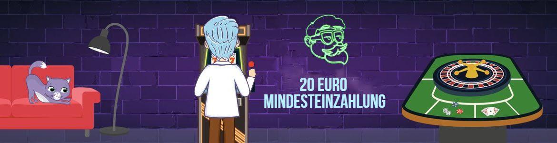 20 Euro Mindesteinzahlung