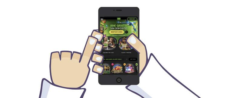 jugar en casino 888 desde la app