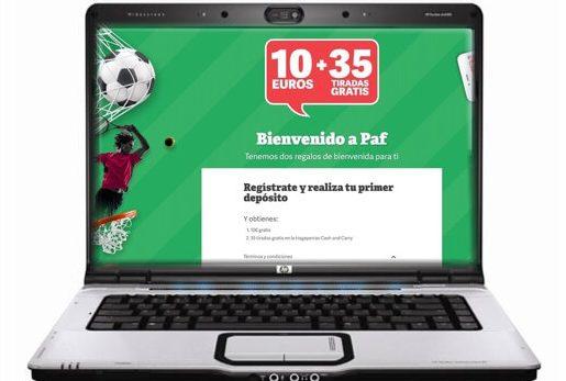paf casino online españa