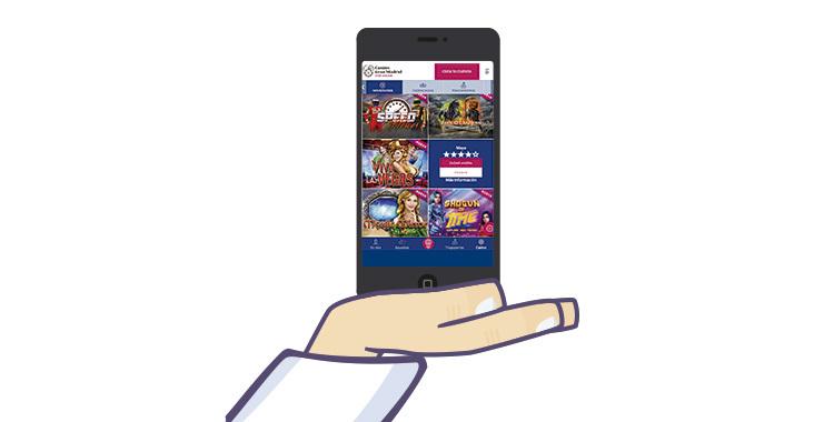 casino gran madrid online desde el movil