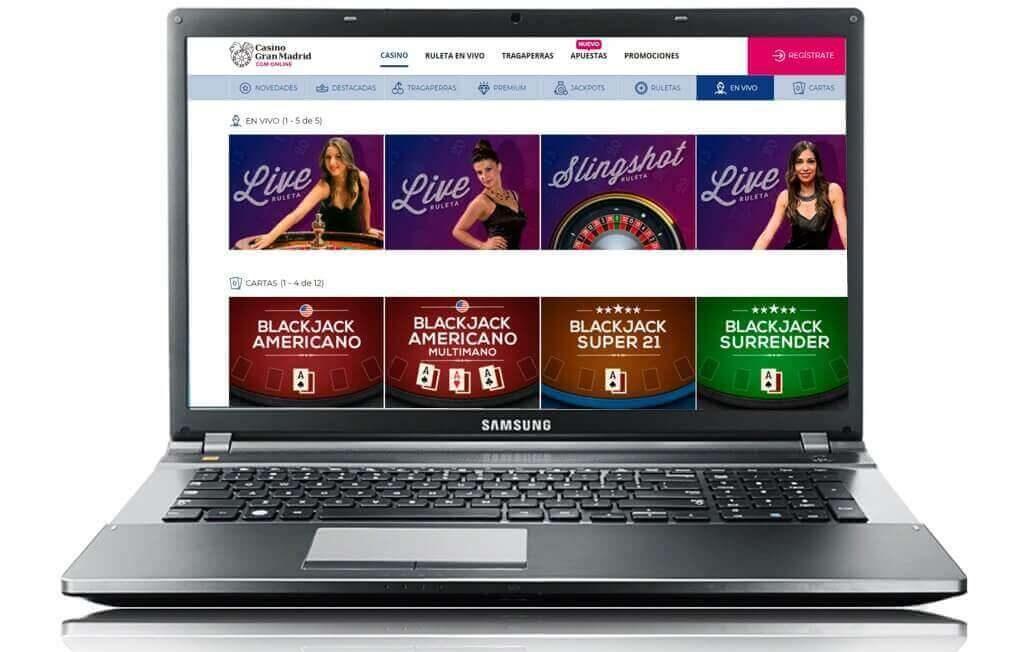 casino gran madrid online desde el ordenador