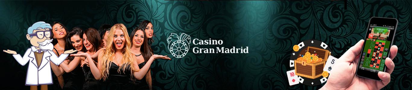bonos sin deposito - casino gran madrid