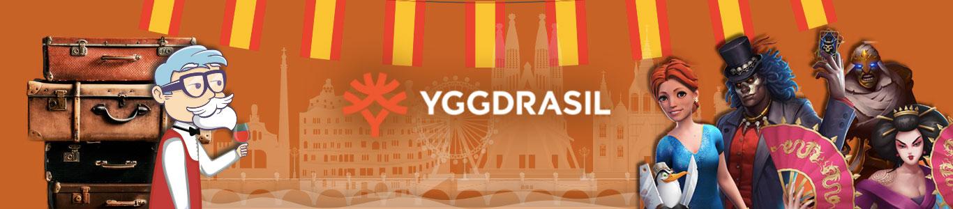 llega a España de la mano de Casino Barcelona el proveedor sueco, Yggdrasil