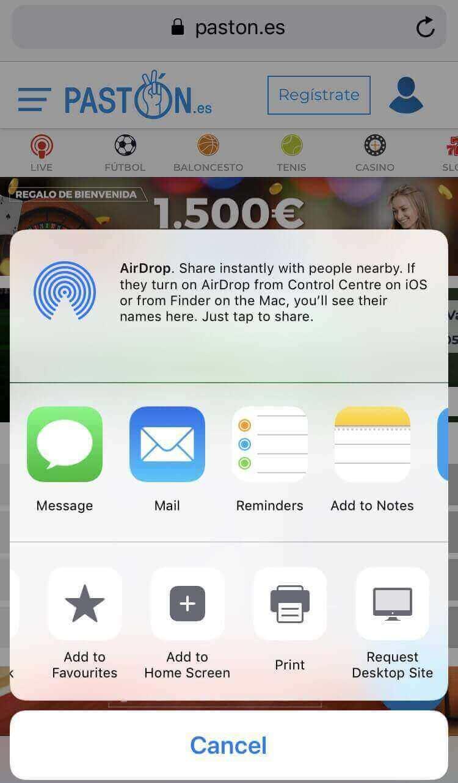 ejemplo de cómo convertir tu casino movil en app