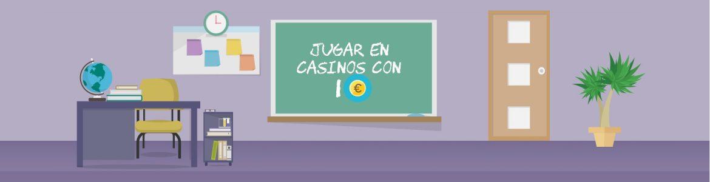 casinos deposito minimo 1 euro