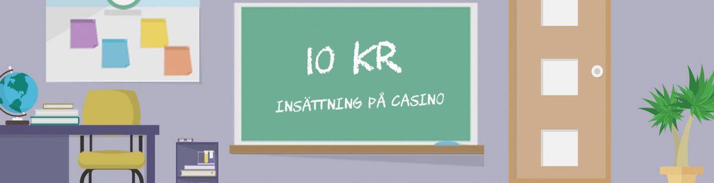 10 kr insättning