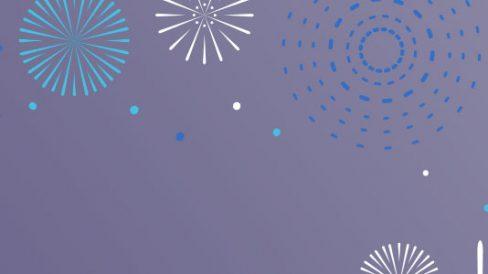 sfondo fuochi artificio