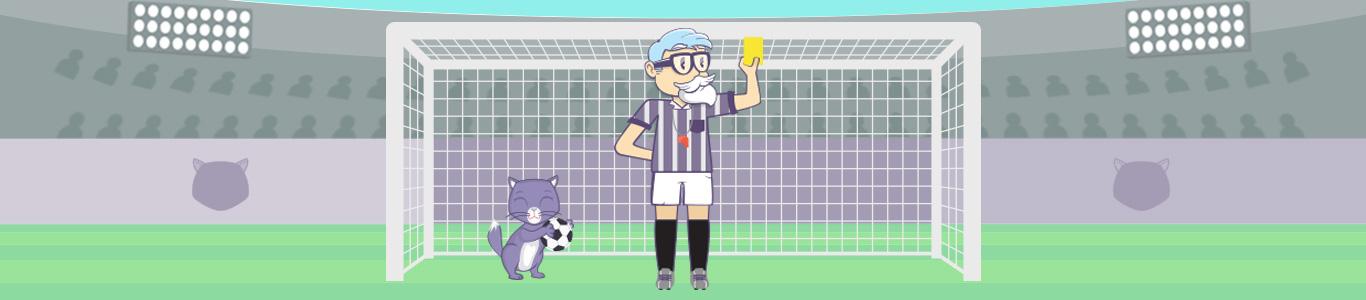 banner professor calcio
