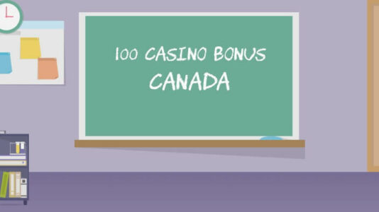 100 casino bonus Canada
