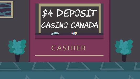 $4 deposit casino Canada